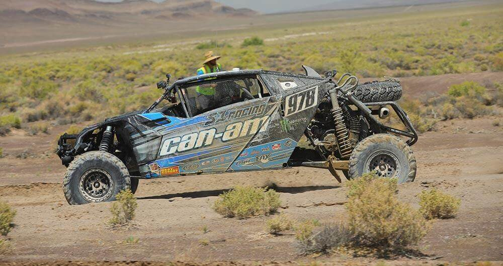 Can-Am / S3 Racing's Dustin Jones, who ran ITP Ultra Cross R Spec tires on his Maverick X3 MAX