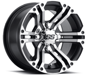 ITP SS Alloy SS212 Wheel Angled View Machined Finish