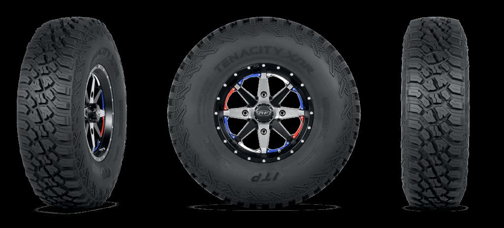 New ITP Tenacity® Series High Performance SxS tires
