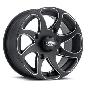 ITP Twister® Wheel Black Right Angled View