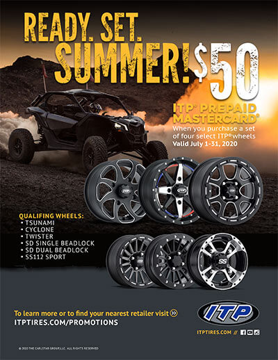 Ready, Set, Summer June 2020 Wheel Rebate